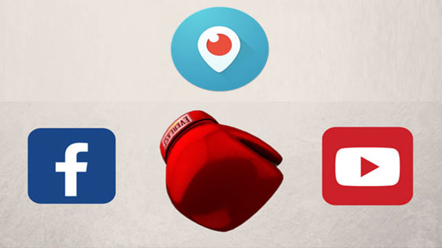 Facebook, YouTube ve Periscope'u hedef aldı