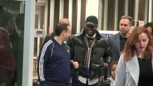 Victor Moses İstanbul'a geldi