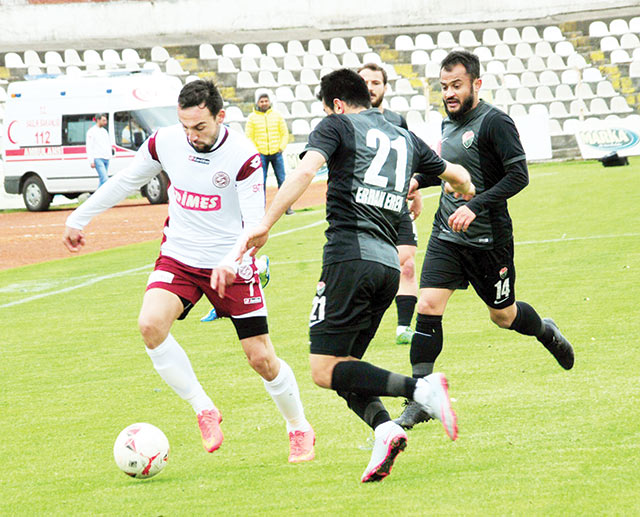 Tokatspor'da play-off zora girdi