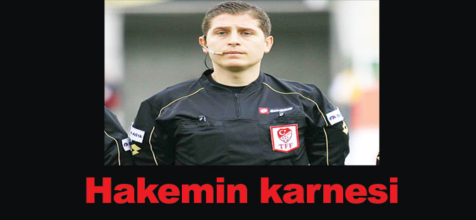 Hakemin karnesi