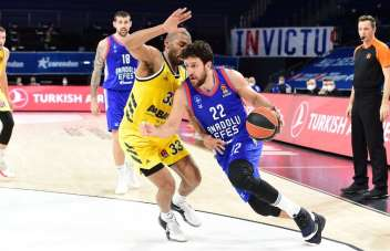 THY Euroleague: Anadolu Efes: 84 - ALBA Berlin: 76