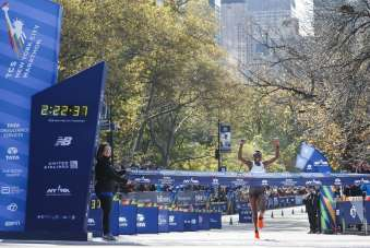 Berlin ve New York Maratonuna Covid-19 engeli