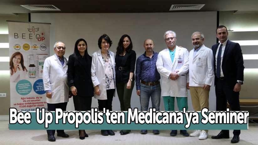 Bee Up Propolis'ten Medicana'ya Seminer