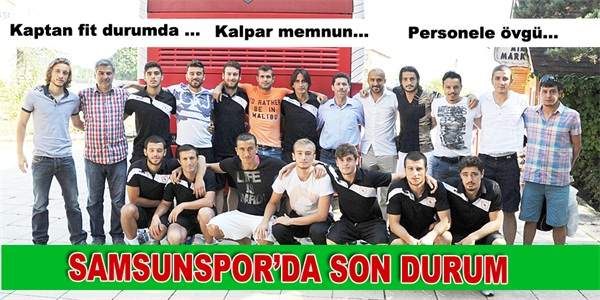 SAMSUNSPOR DA SON DURUM