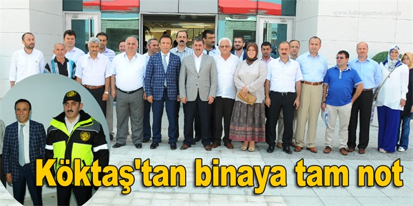 Köktaş tan binaya tam not